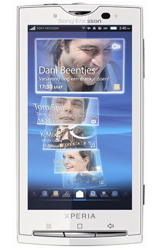 Sony Ericsson Xperia X10 White KPN