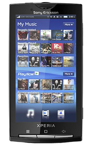 Sony Ericsson Xperia X10 Black KPN