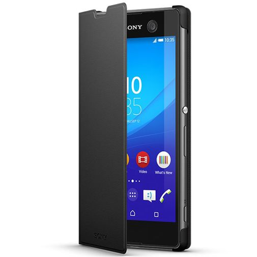Sony Style Cover Black Xperia M5