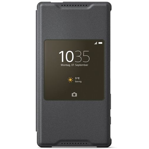 Sony Style Cover Black Xperia Z5 Compact