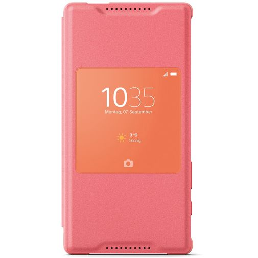 Sony Style Cover Coral Xperia Z5 Compact