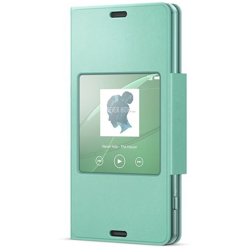 Sony Style Cover Green Xperia Z3 Compact