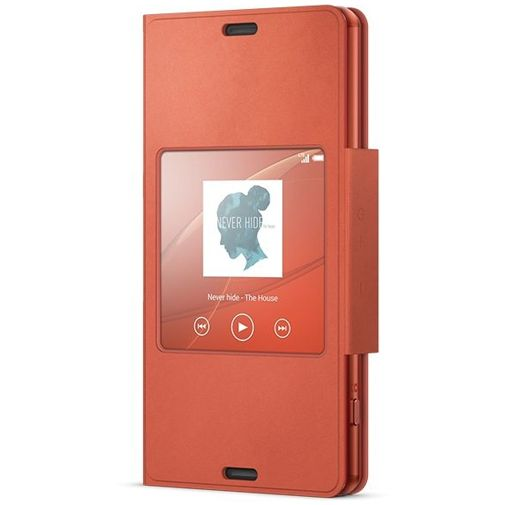 Sony Style Cover Orange Xperia Z3 Compact