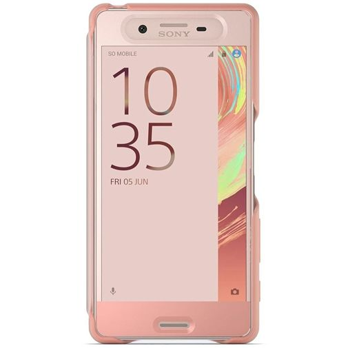 Sony Style Cover Touch SCR50 Rose Gold Xperia X