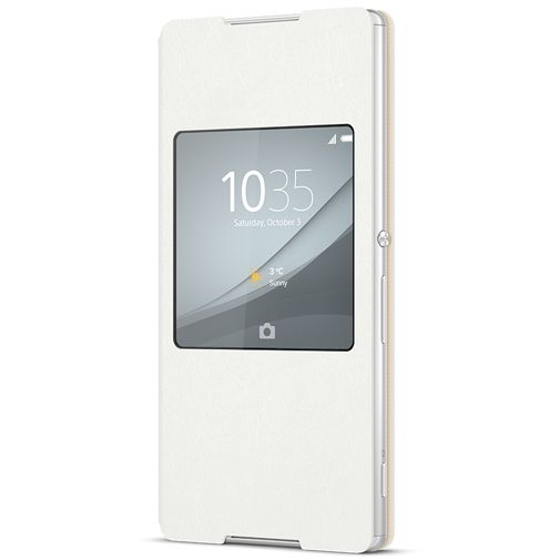 Sony Style Cover White Xperia Z3 Plus