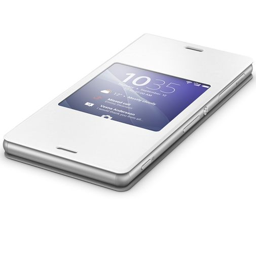Sony Style Cover White Xperia Z3