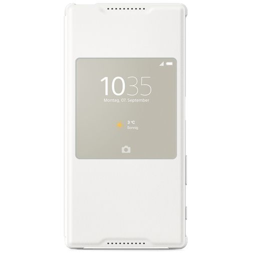 Sony Style Cover White Xperia Z5