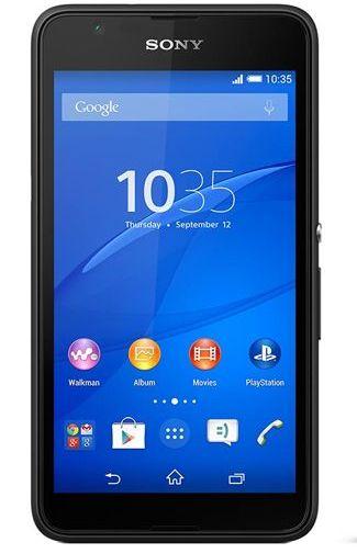 Sony Xperia E4G Black
