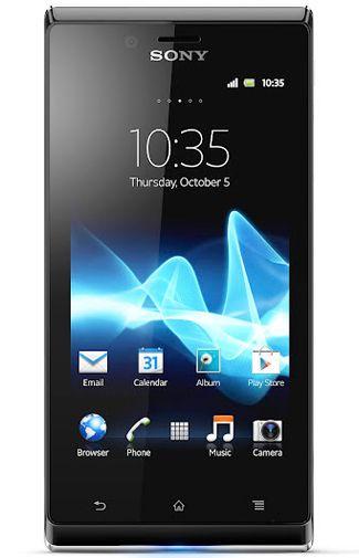 Sony Xperia J White