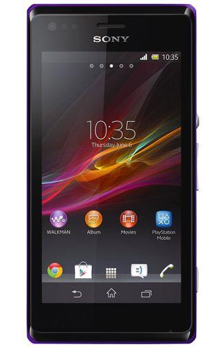 Sony Xperia M Purple