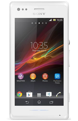Sony Xperia M White Lime