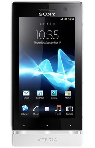 Sony Xperia U Black White