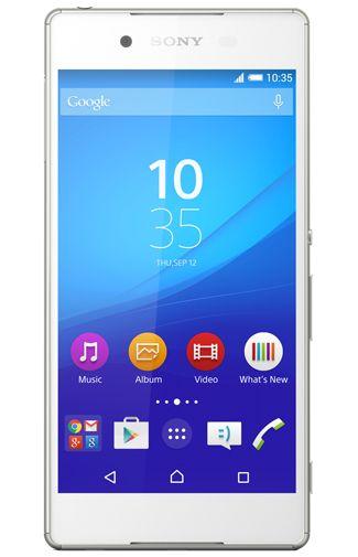 Productafbeelding van de Sony Xperia Z3 Plus White