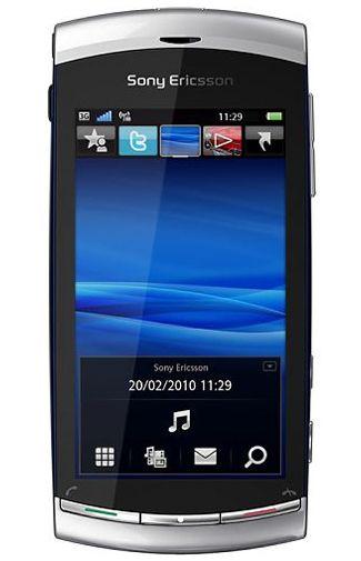 Sony Ericsson Vivaz Silver