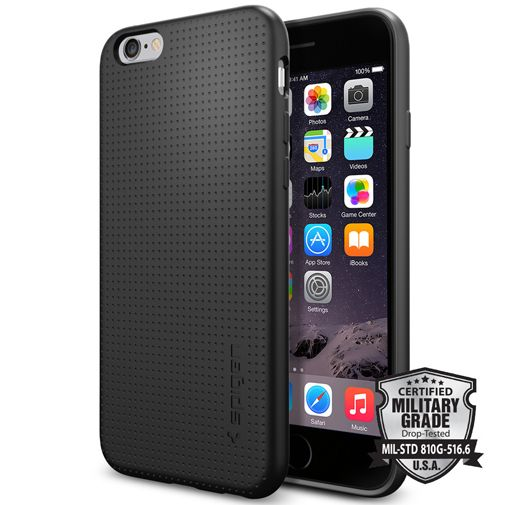 Spigen Capsule Case Black Apple iPhone 6/6S