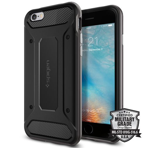 Spigen Neo Hybrid Carbon Case Gunmetal Apple iPhone 6/6S