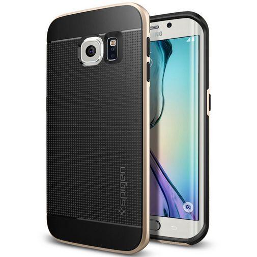 Productafbeelding van de Spigen Neo Hybrid Case Champagne Gold Samsung Galaxy S6 Edge
