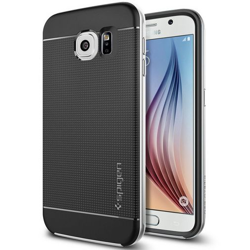 Spigen Neo Hybrid Case Satin Silver Samsung Galaxy S6