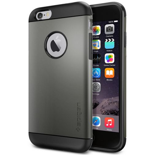 Spigen Slim Armor Case Gunmetal Apple iPhone 6/6S