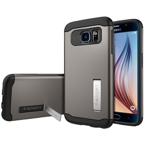 Spigen Slim Armor Case Gunmetal Samsung Galaxy S6