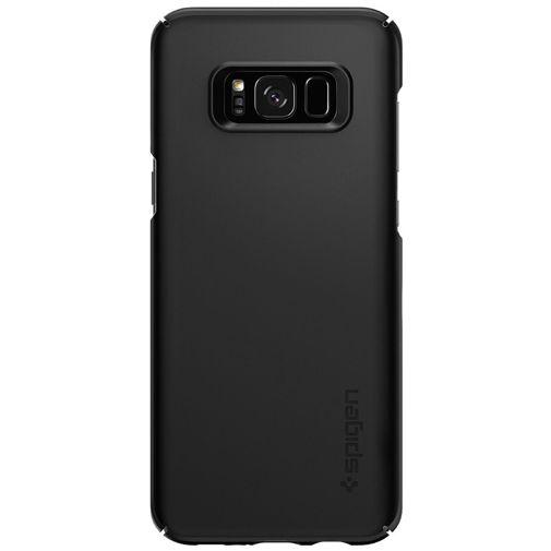 Productafbeelding van de Spigen Thin Fit Case Black Samsung Galaxy S8+