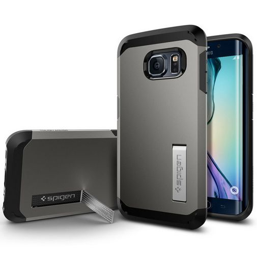 Spigen Tough Armor Case Gunmetal Samsung Galaxy S6 Edge