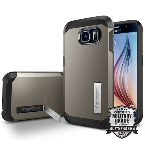 Spigen Tough Armor Case Gunmetal Samsung Galaxy S6