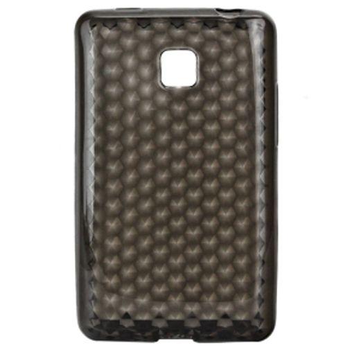 Productafbeelding van de Trendy8 Diamond Series TPU Case LG Optimus L3 II Grey