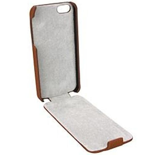 Productafbeelding van de Trendy8 Leather Flip Case iPhone 5 Brown