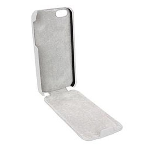 Trendy8 Leather Flip Case iPhone 5 White