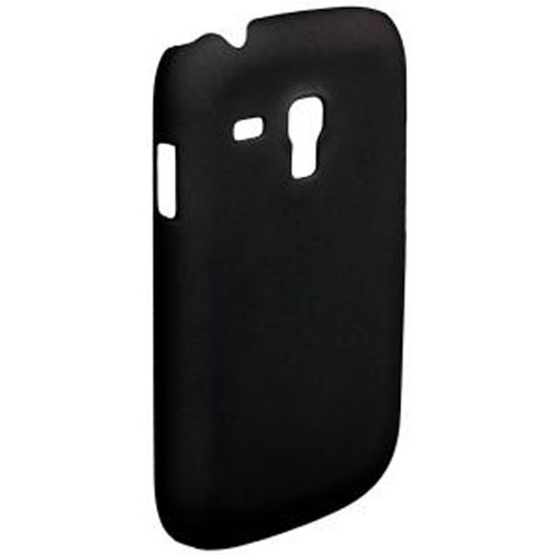 Productafbeelding van de Trendy8 SoftTouch Case Samsung Galaxy S3 Mini (VE) Black