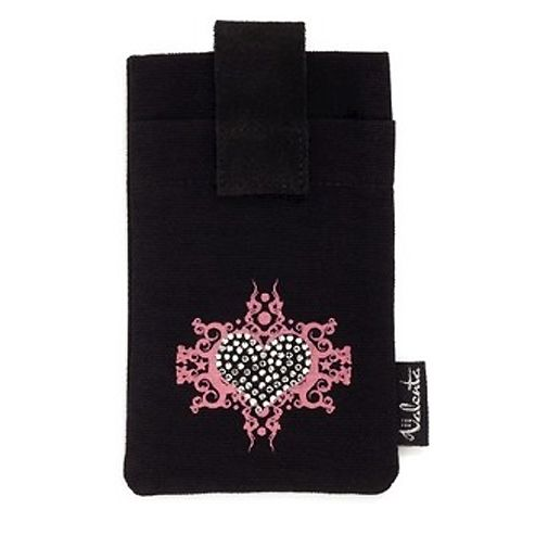 Valenta Fashion Case Fire Heart Pink