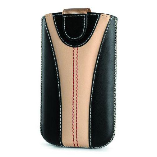 Productafbeelding van de Valenta Fashion Case Monza Black Camel 01