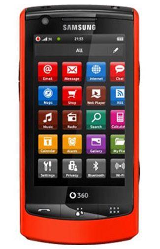 Vodafone 360 Samsung M1 Red