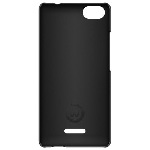 Wiko Back Cover Black Wiko Fever 4G