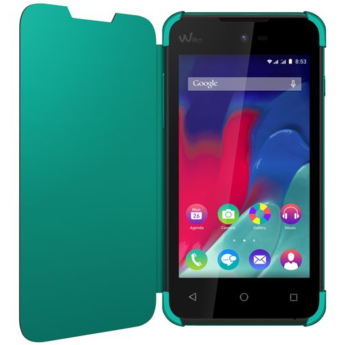 Wiko Booklet Case Turquoise Wiko Sunset 2