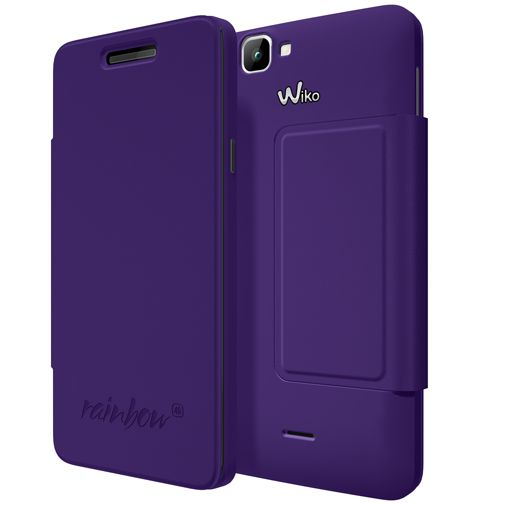Wiko Booklet Case Violet Wiko Rainbow 4G