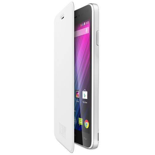 Wiko Booklet Case White Wiko Lenny