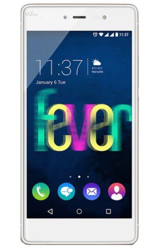 Wiko Fever 4G Dual Sim White Gold