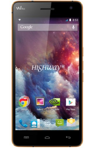 Wiko Highway 4G Orange