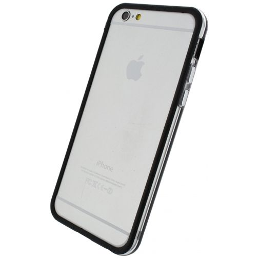 Xccess Bumper Case Transparent/Black Apple iPhone 6/6S