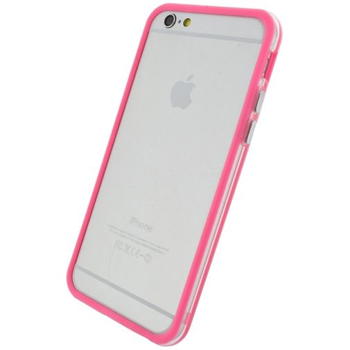 Xccess Bumper Case Transparent/Pink Apple iPhone 6/6S