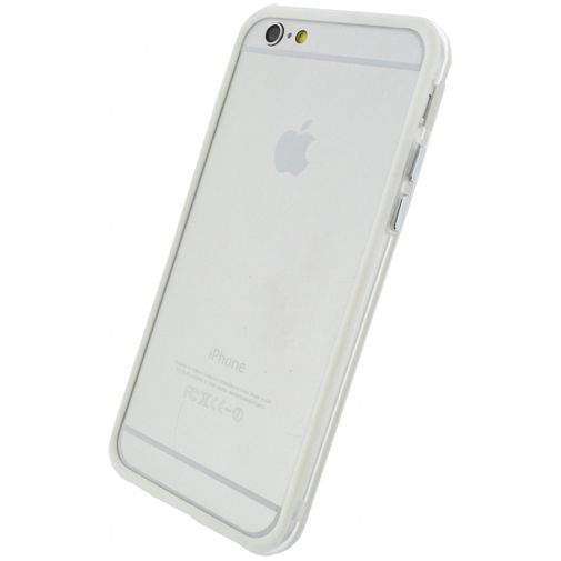 Xccess Bumper Case Transparent/White Apple iPhone 6/6S