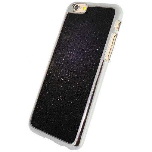 Xccess Glitter Cover Black Apple iPhone 6/6S
