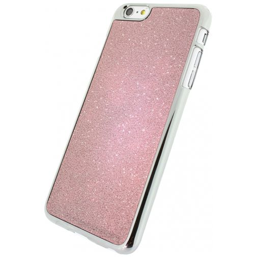 Xccess Glitter Cover Coral Pink Apple iPhone 6 Plus/6S Plus