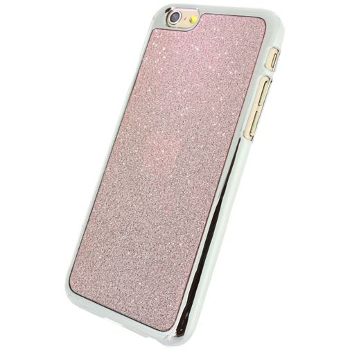 Xccess Glitter Cover Coral Pink Apple iPhone 6/6S
