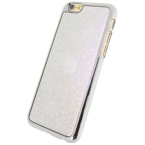 Productafbeelding van de Xccess Glitter Cover Silver Apple iPhone 6/6S
