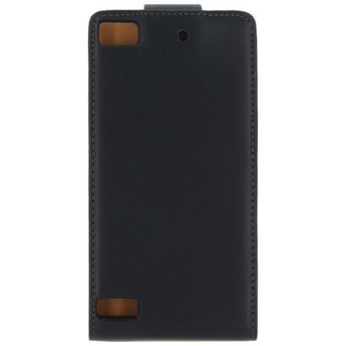 Xccess Leather Flip Case Black BlackBerry Z3