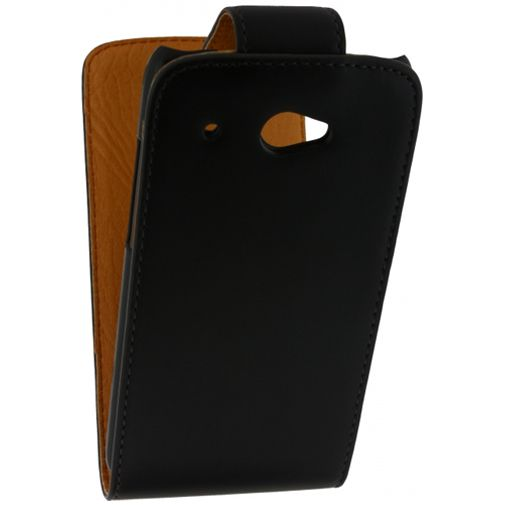 Xccess Leather Flip Case Black HTC Desire 601