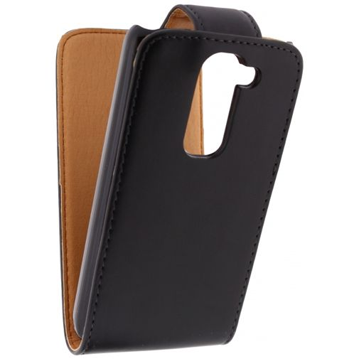 Productafbeelding van de Xccess Leather Flip Case Black LG G2 Mini